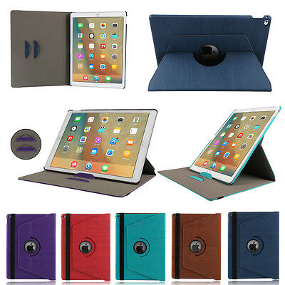 Apple Swivel Case (360 Swivel Folio Stand Cover PU Leather Case For Apple iPad Pro 12.9 2nd/1st)