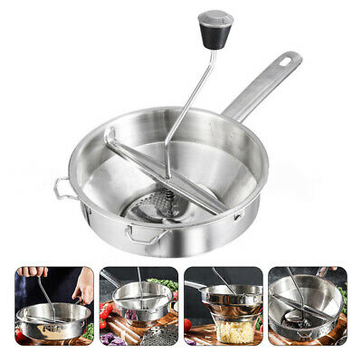 Stainless Steel Potato Masher Ricer Vegetable Fruit Kitchen Puree Garlic Presser