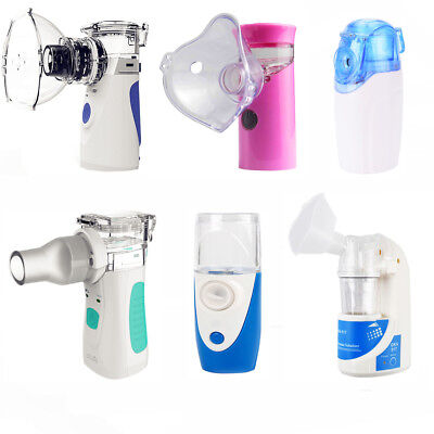 Lots Portable Ultrasonic Nebulizer Usb Rechargeable Mesh Nebulizer Humidifier