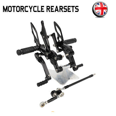 ADJUSTABLE REARSETS FOOTPEGS REAR SETS FIT FOR <em>YAMAHA</em> FZ1 FAZER 1000 0
