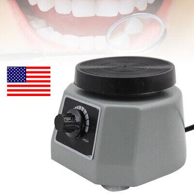 Dental Model Vibrator Shaker Lab 4 Round For Mixing Plaster Gypsum Etc. 110v