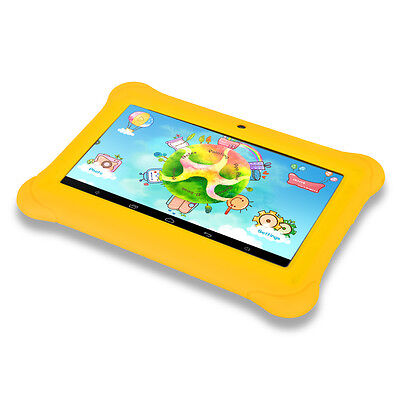 "iRULU 7"" Kids Tablet PC Android 4.4 8GB BabyPad Quad Core Dual Cam w/Earphone"