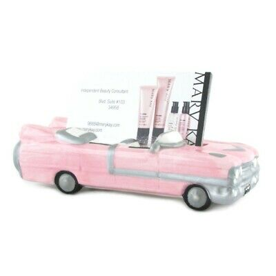 Mary Kay Business Card Holder Vintage Pink Cadillac Porcelain Mk Cosmetics New