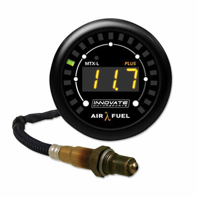 Innovate MTX-L PLUS: Digital Wideband Air/Fuel Ratio Gauge Kit PN:3918