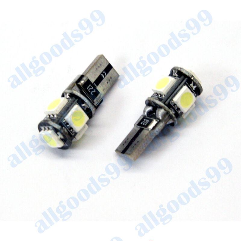 LEXUS IS250 220d Front Side Light LED Bulbs 6000k white