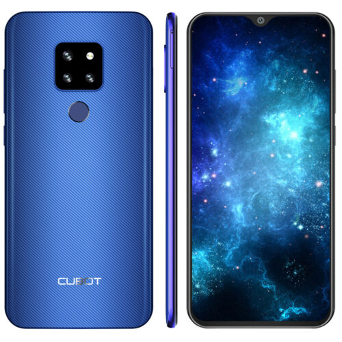 Blau Cubot P30 4G Android 9.0 Octa Core Handy 4GB+64GB Fingerabdruck Smartphone