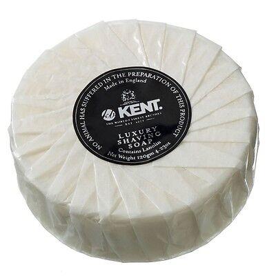 Kent Shaving Soap Bar SB2 120g Luxury Wet Shaving - Lanolin - Same Day Shipping