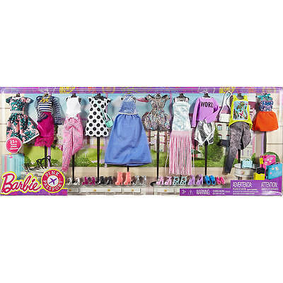 NEW BARBIE FASHIONISTAS DOLL CLOTHES FASHION PACK DRESS OUTFITS MY FAB LIFE RARE