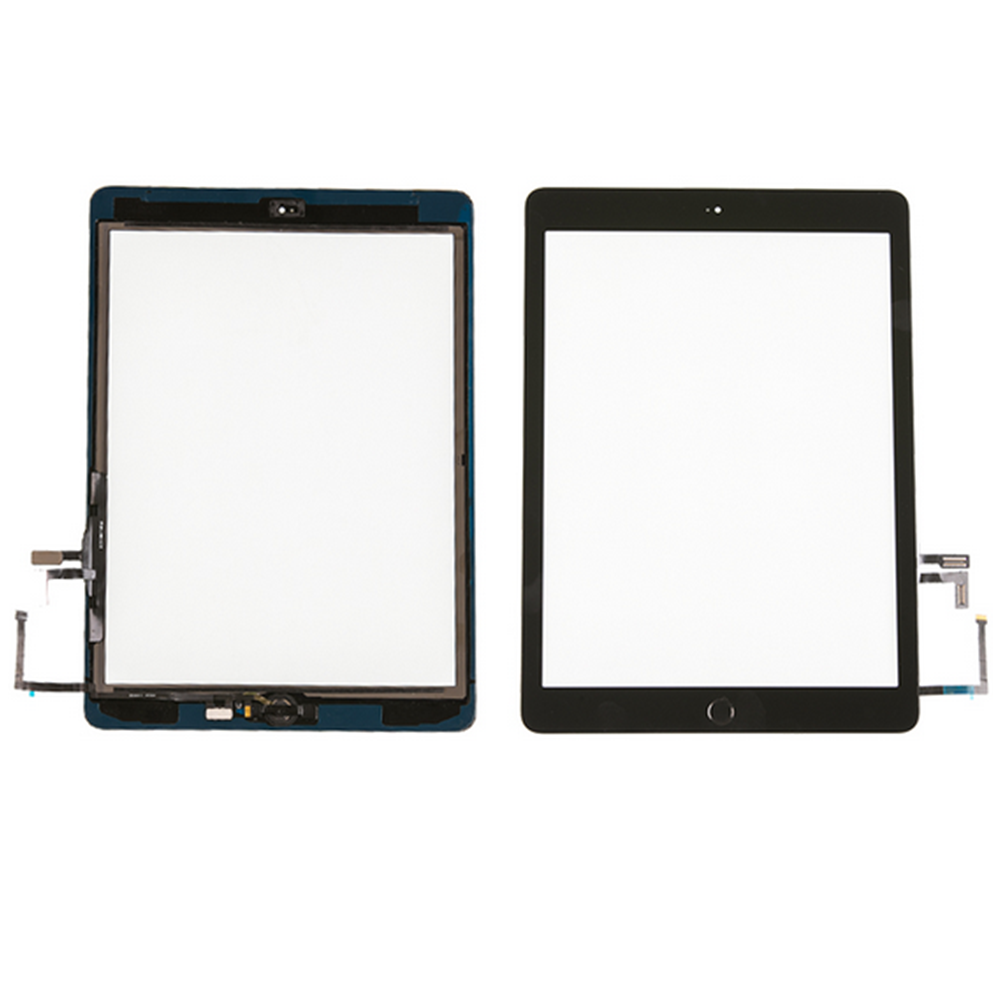 For iPad 5th Gen 2017 A1822 A1823 Touch Screen Digitizer Lens Glass Replacement black