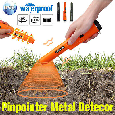 Waterproof Metal Detector Pro Pinpointer Gold Hunter Finder Sensitive Search NEW
