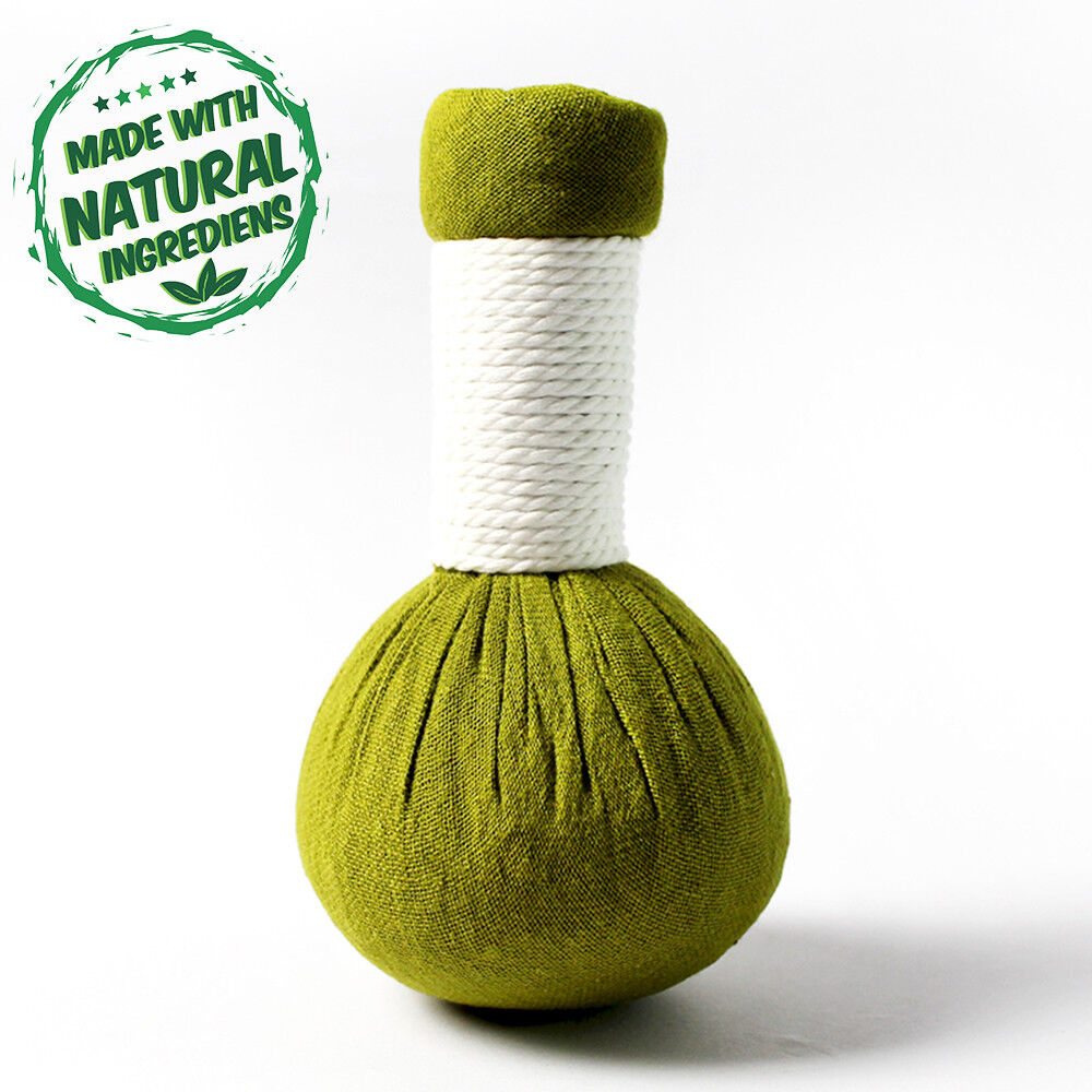 10 x Kräuterstempel 200g Zitronengras - Thai Kräuter für Thai Massage Wellness