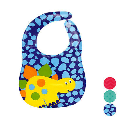 Kids Waterproof Bibs Soft Translucent EVA Plastic Bibs For Babies Free Shipping
