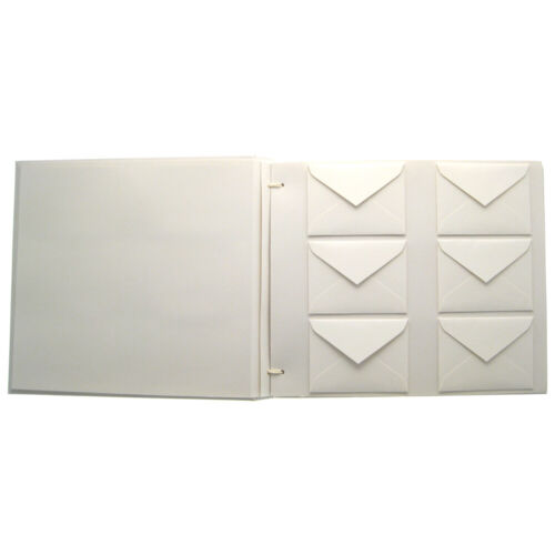 MINDY WEISS Wish Guest Book with Envelopes & Cards - White & Tiffany Blue NEW
