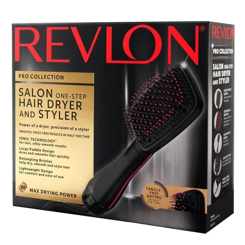Revlon Blow Dryer Brush One-Step Salon Hair Dryer & Styler W