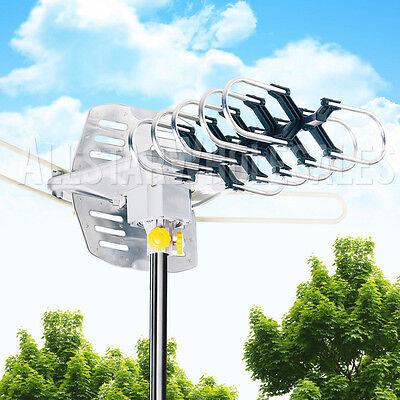 Outdoor Amplified Antenna OEM HDTV 1080p High Gain 36 dB UHF VHF 150 Miles