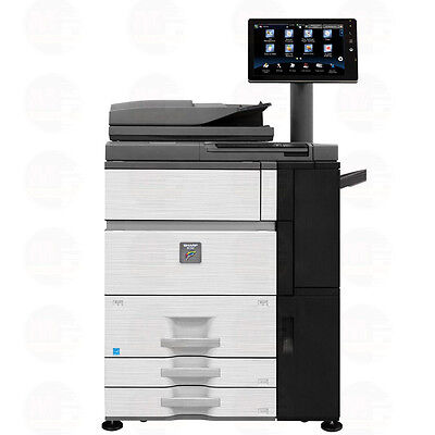 Sharp Mx 6500n Color Laser Multifunction Printer Scanner Copier