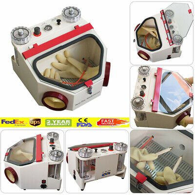 Dental Double Pen Fine Sandblaster Unit Lab Machine Equipment Fine Blasting Unit