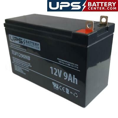 - 12V 9Ah Sealed Lead Acid Battery with F3 - Nut & Bolt Terminals
