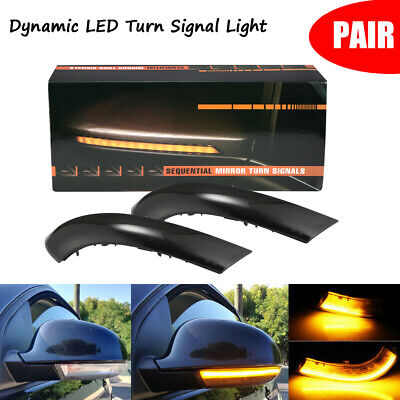 Dynamic LED Turn Signal Light Mirror Indicator for VW Golf 5 Jetta MK5 Passat B6 for sale  Shipping to Canada