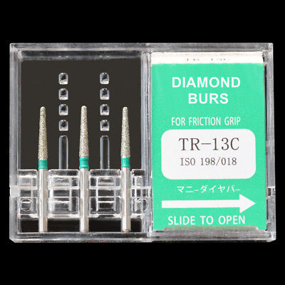 Tr-13c Japan Mani Dia-burs For Dental High Speed Handpiece Diamond Burs Fg 1.6mm