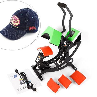 Professional 4in1 Hat Cap Heat Press Machine Sublimation Transfer Machine 500w