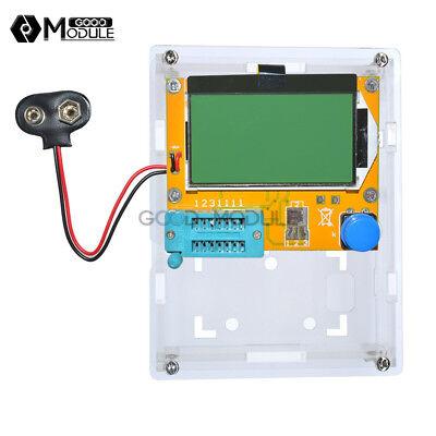 Digital Lcr-t4 Lcr-t5 Atmega328 Transistor Tester 12864 Lcd Capacity Esr Meter