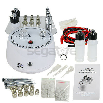 جهاز تقشير الجلد جديد 3-1 Mini Diamond Microdermabrasion Dermabrasion Facial Peel Vacuum Spray Machine