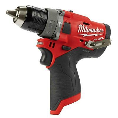 New Milwaukee 2504-20 M12 12v Li-ion Fuel Brushless 12 Hammer Drill-bare Tool