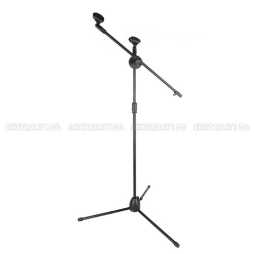 telescoping microphone boom stand tripod stage studio
