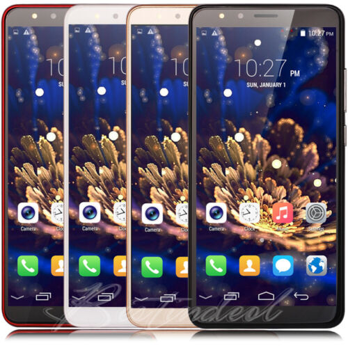 "Android Phone - Cheap 5.5"" Large Screen Android8.0 Factory Unlocked Quad Core Smart Mobile Phone"