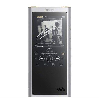 NEW SONY NW-ZX300 S Walkman ZX Series 64GB SILVER from JAPAN