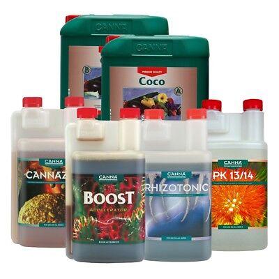 Canna Nutrients Boost PK 13/14 Coco Cannazym Flores Rhizotonic Vega Hydroponic