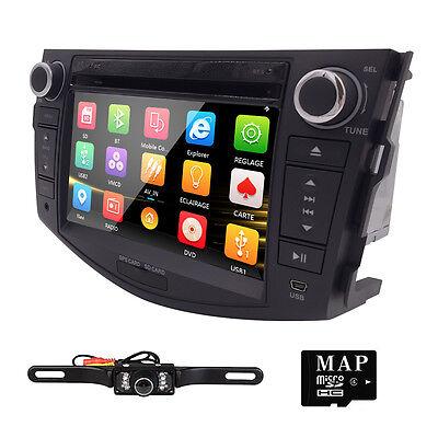 2006-2011 FOR TOYOTA RAV4 Car DVD Player 2 DIN GPS Navigator Stereo Radio Camera