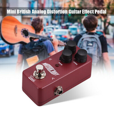 NUX Twinote Circuit Classic BRITISH Distortion Guitar Effect Pedal Vintage UK