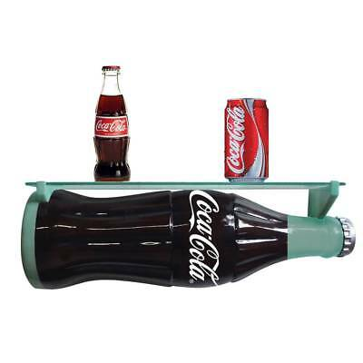 COCA COLA Bottle 3-D Ablage Regal Coke Flasche USA Beverage Softdrink Wandregal