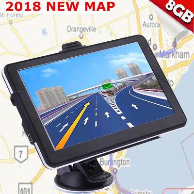 8Gb 5  Truck Car Gps Navigation Navigator Free Usa Canada Mexico Us World Map Bt