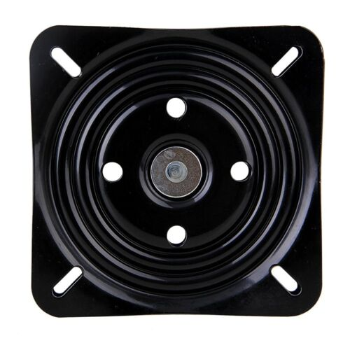 8 Inch A3 Steel Plate Black Ball Bearing Square Swivel