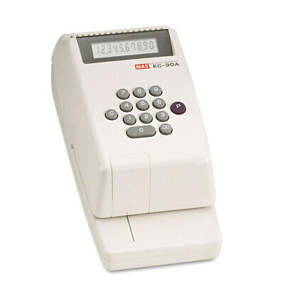 MAX 10-digit Print Electronic Check Writer EC-30A