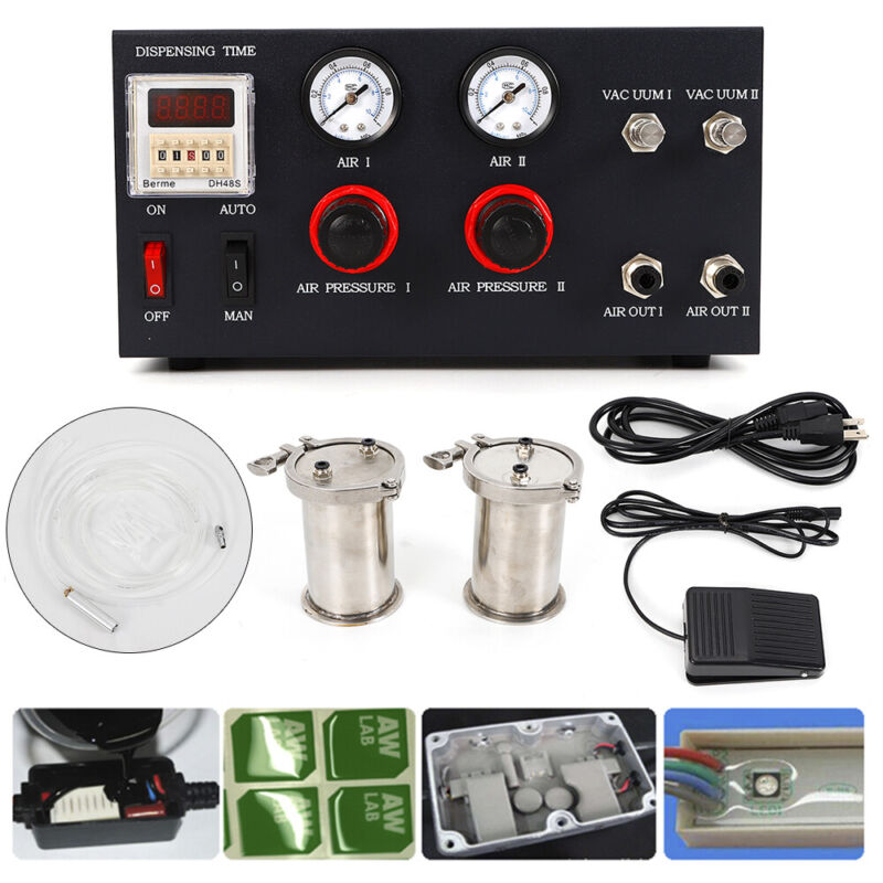 AB Two-component Glue Dispenser Epoxy Resin Adhesive Quantify Dispensing Machine