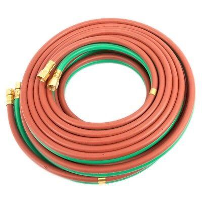 Twin Welding Hose Grade T 25 X 14 Oxygen Propane 25 14 Bb Connection