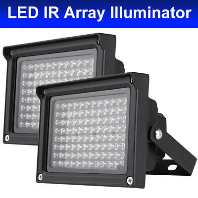 2X IR Illuminator 96pcs Infrared Lamps Outdoor Night Vision for CCTV Camera Z3E9