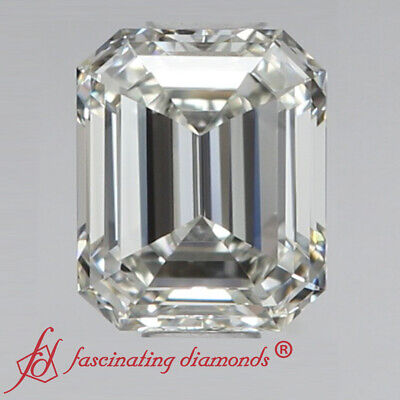 .90 Carat Emerald Cut Loose Diamond For Sale - Design Your Own Ring - D Color