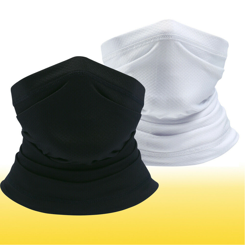 Cooling Face Cover Neck Gaiter Balaclava Bandana Face Tube Headband-Scarf Men US Clothing, Shoes & Accessories