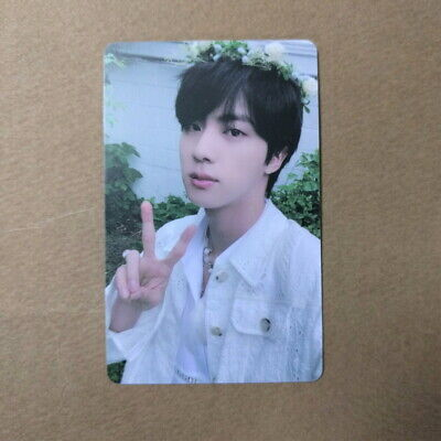 [Official] BTS BUTTER LUCKY DRAW PHOTOCARD [POWER STATION. JIN ]