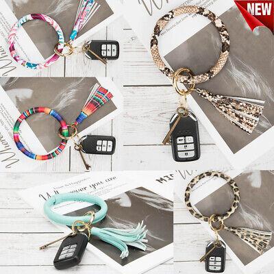 NEW Key Ring Bracelet Key Chain Bangle Keychain Key Holder Wristlets Multicolor