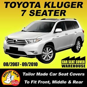 Car-Seat-Covers-Toyota-Kluger-7-Seater-all-3-Rows-08-2007-09-2010-Airbag-Safe