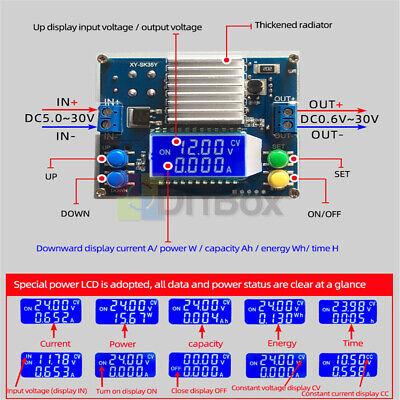 Automatic Boost Buck Converter Adjustable Regulated Cc Cv Solar Charging Module