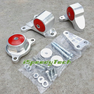 FOR Honda Civic SI Acura RSX K20 All Series EP3 20L Red Turbo Engine Mount Kit