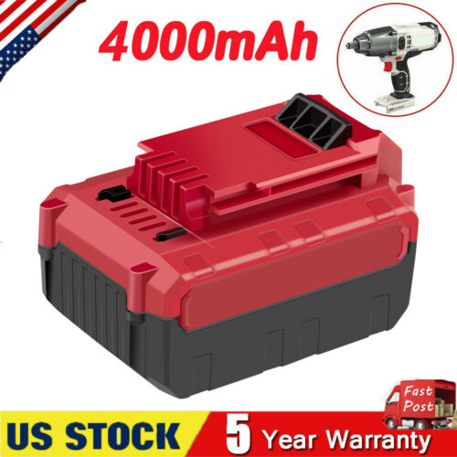 4.0Ah Lithium-Ion 20V Max Battery for PORTER CABLE 20 Volt P