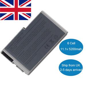 New Laptop Battery for Dell Latitude D610 D600 D530 D520 D510 D505 D500 C1295 UK